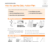 How To Use The Daily Action Plan